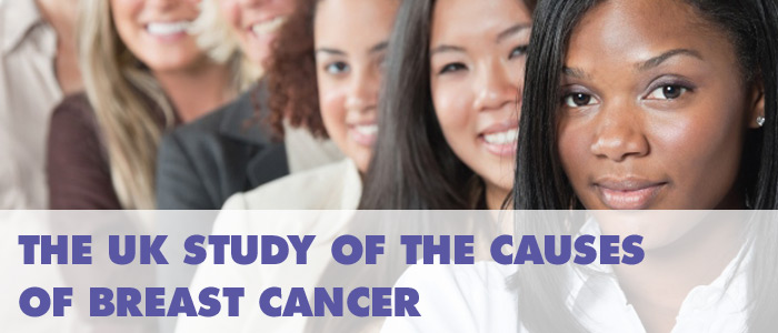The UK study of the causes of breast cancer